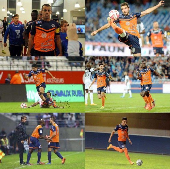 Maglia Home Montpellier 2014-2015