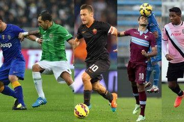 Pazzi colori maglie Serie A 2014-15
