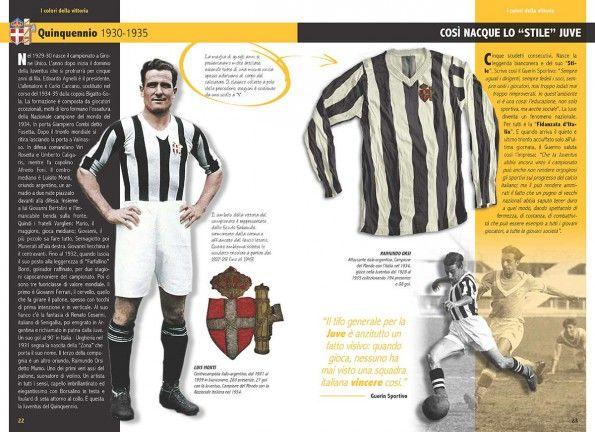 Quinquennio 1930-1935 maglie Juventus