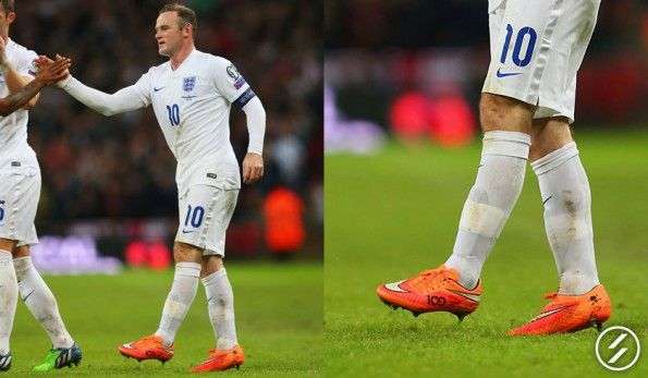 Wayne Rooney (Inghilterra) Nike Hypervenom Phantom