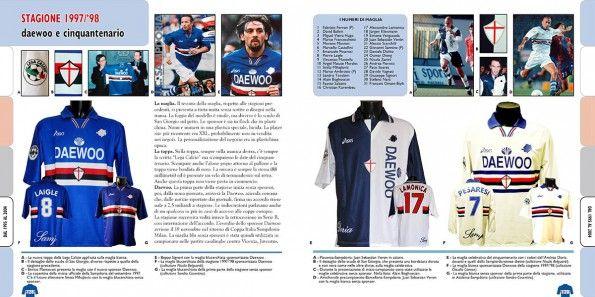 Le pagine del 1997-98 sul libro della Sampdoria