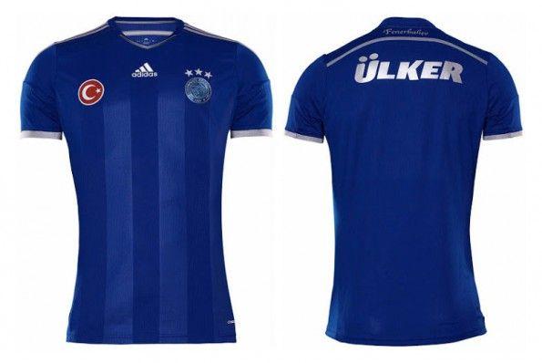 Fenerbahce terza maglia blu 2014-2015