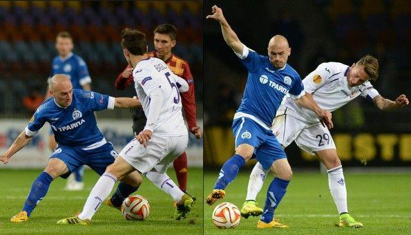 Prima maglia Dinamo Minsk 2014-15 home