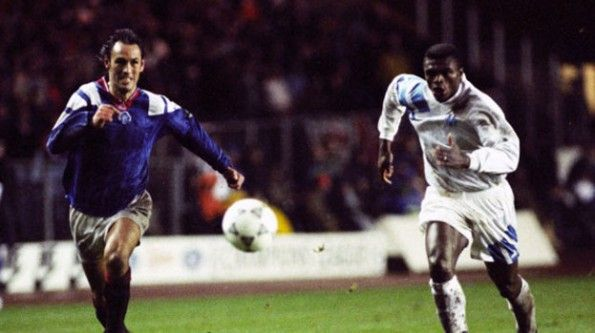 Hateley e Desailly 1993