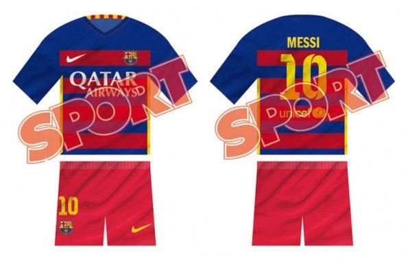 Anteprima maglia Barcellona 2015-2016