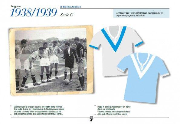 Libro maglie Brescia 1938-1939