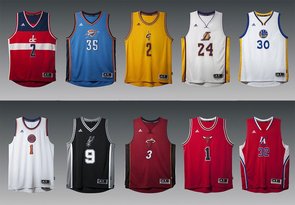 Maglie NBA Christmas Day 2014