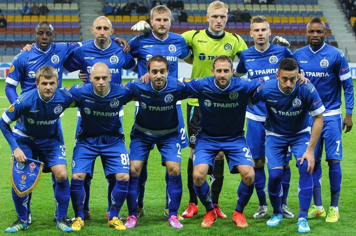 Kit Dinamo Minsk home 2014-2015