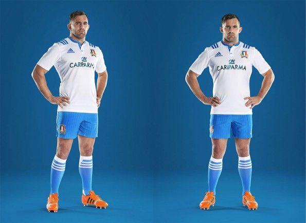 Seconda divisa Italia rugby 2015 adidas
