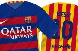 Anteprima maglie Barcellona 2015-2016