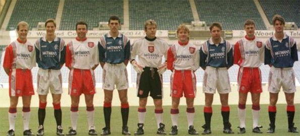 Presentazione kit Rangers 1996-1997