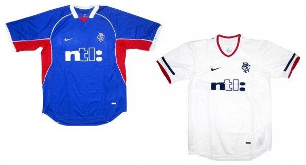 Maglie Rangers FC 2001-2002