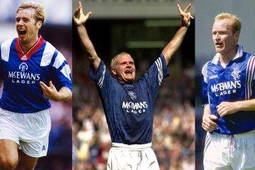Le maglie dei Rangers di Glasgow marchiate adidas