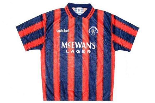 Seconda maglia Rangers 1993-1994