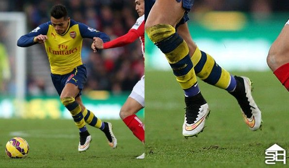 Sanchez (Arsenal) Nike Mercurial Superfly IV