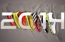 2014 un anno di scarpe da calcio