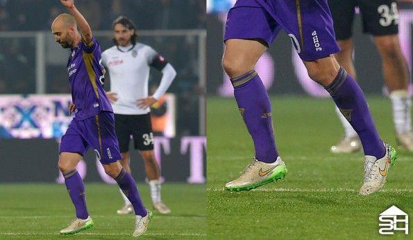Borja Valero (Fiorentina) Nike Magista Opus