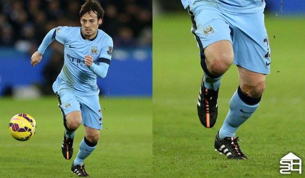 David Silva (Man City) adidas 11Pro