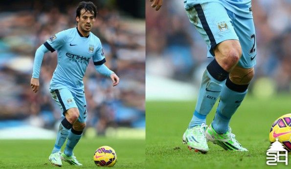 David Silva (Manchester City) adidas adizero F50