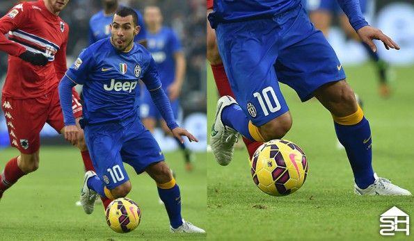 Carlos Tevez (Juventus) Nike Tiempo Legend V