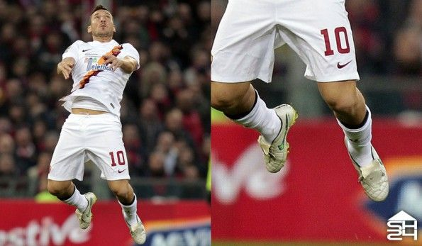 Francesco Totti (Roma) Nike Tiempo Legend V CUSTOM