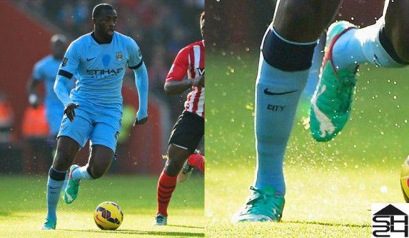 Yaya Tourè (Manchester City) Puma evoPower