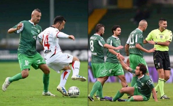 Divisa Avellino provvisoria 2014-15