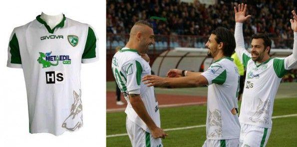 Seconda maglia Avellino 2014-2015
