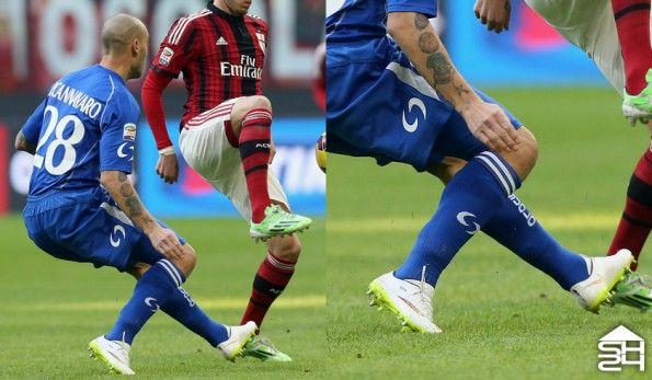 Cannavaro (Sassuolo) Nike Mercurial Vapor X Shine Through