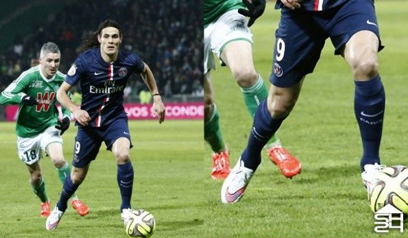 Edison Cavani (Psg) Nike Hypervenom Phantom #shinethrough