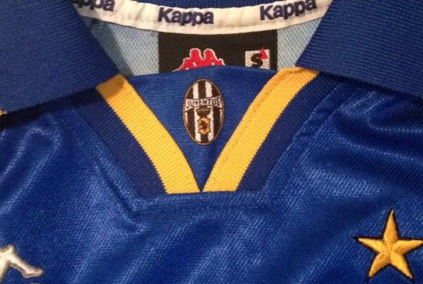 Colletto maglia trasferta Juventus 1996-1997