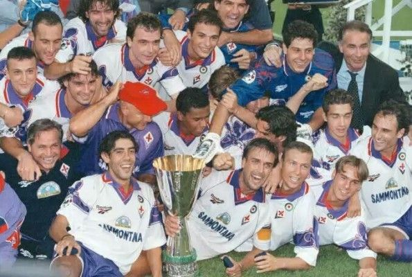Fiorentina Supercoppa 1996