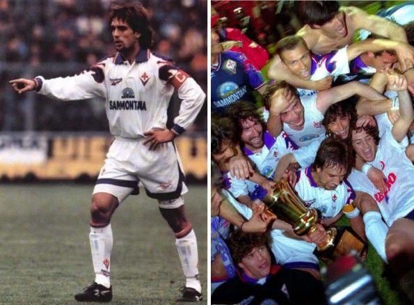 Fiorentina maglia trasferta 1995-1996