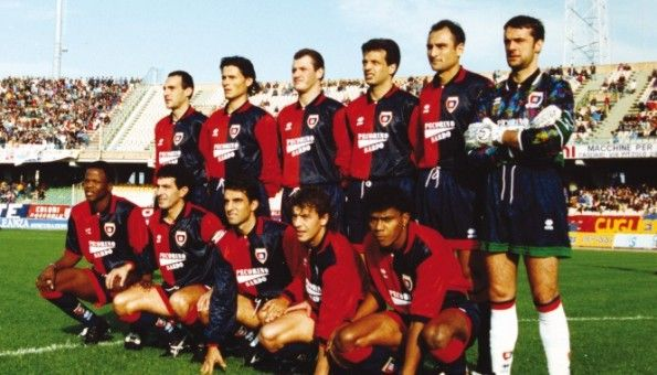 Formazione Cagliari 1993-1994