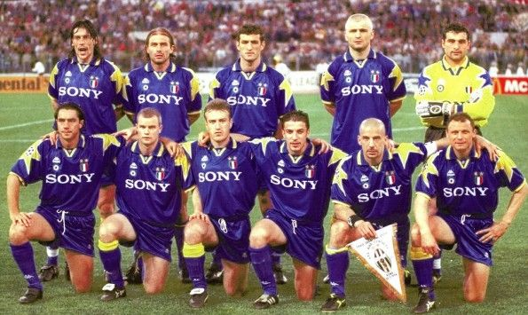 Juventus finale Champions League 1995-1996