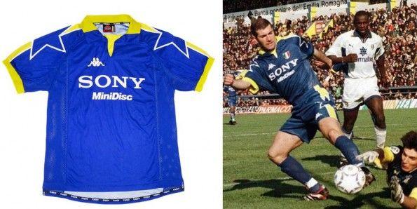 Maglia trasferta Juventus 1997-1998