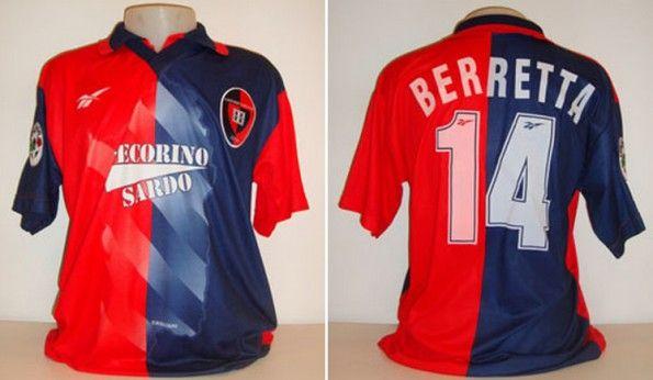 Maglia Cagliari 1997-1998 Reebok