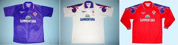 Maglie Fiorentina 1995-1996 Reebok