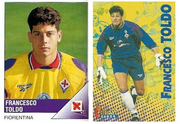 Maglie Toldo Fiorentina 1995-1997