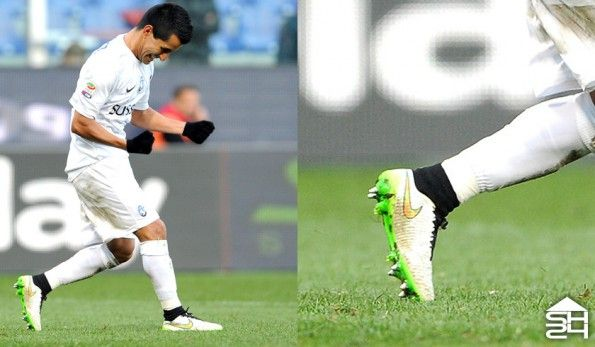 Maxi Moralez (Atalanta) Nike Magista Obra Shine Through
