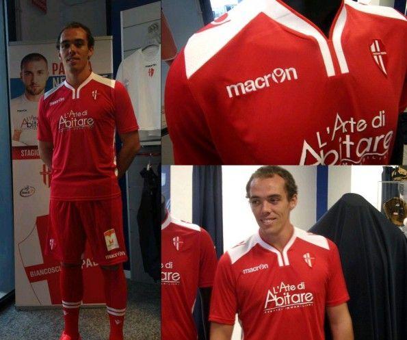 Seconda maglia Padova 2014-2015 rossa
