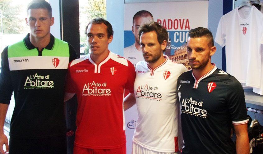 Presentazione maglie Padova 2014-2015