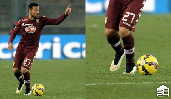 Quagliarella (Torino) Nike Mercurial Superfly IV Shine Through