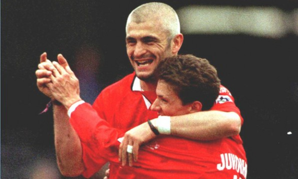 Ravanelli Juninho Middlesbrough 96-97