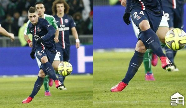 Marco Verratti (Psg) Puma evoSpeed 1.3 Leather