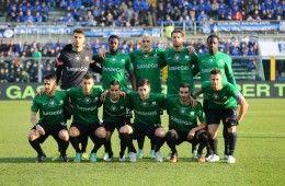 Atalanta, Christmas Match 2014 in maglia verde