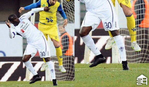 Babacar (Fiorentina) - Nike Magista Obra Total black