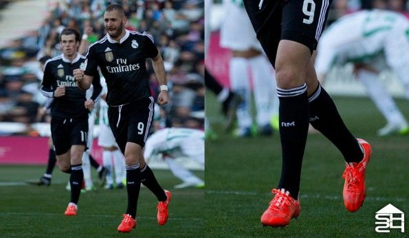 Karim Benzema (Real Madrid) adidas F50 adizero #therewillbehaters