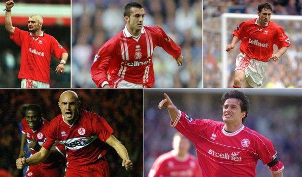 Calciatori italiani con la maglia del Middlesbrough