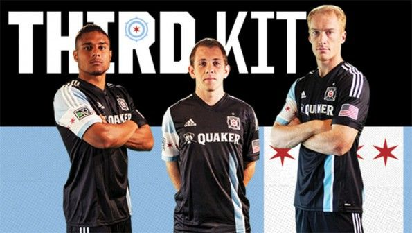 Chicago Fire third kit 2014-2015